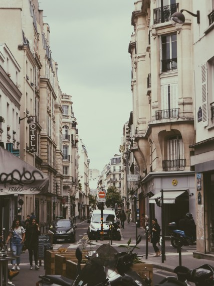 Steets of Paris.